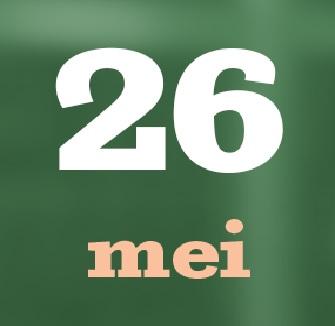 26 mei